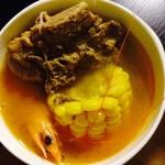 辛梦迪墨鱼鲜虾炖排骨的做法