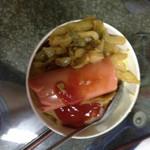 芒果小公举煎饼果子的做法