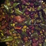 李黎黎青豆牛肉末的做法
