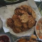 贞贞爱煮菜炸茄子盒的做法