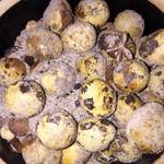 叶子的肋骨盐焗鹌鹑蛋的做法