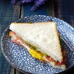 18LS28xgl零落洋气的早餐 网红沼三明治的做法