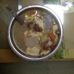 蜜糖部落年糕大酱汤的做法