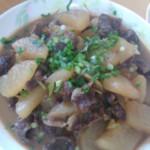 *月*(来自腾讯..)萝卜炖牛肉的做法