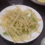 清新柠檬(来自腾讯...)酸辣土豆丝的做法