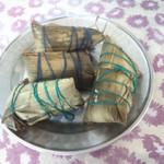 杰米田园鲜肉粽的做法
