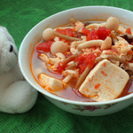 杰米田园茄汁豆腐的做法