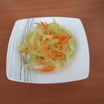 杰米田园青柠豆芽菜#丘比沙拉汁#的做法