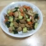 杰米田园豌豆杏鲍菇炒肉丁#晚餐#的做法
