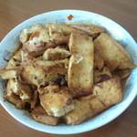 杰米田园奥尔良香菇酱煎豆腐的做法