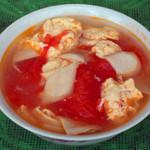 杰米田园西红柿鸡蛋汤面的做法