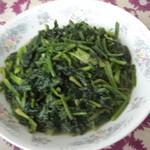 杰米田园芝麻果仁拌菠菜的做法