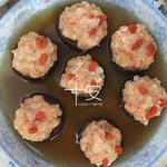严寒3145虾酿香菇盏的做法