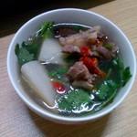 六星萝卜羊肉汤的做法