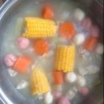 甜小妞(来自腾讯..)冬瓜玉米汤的做法