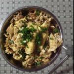 半城烟沙﹉盛夏゛萝卜干炒鸡蛋的做法