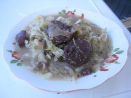 酸菜血肠烫做法的全部大全土豆排骨作品蘑菇家常菜图片