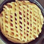 圆圆的燕子窝苹果派的做法