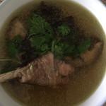默默福豆榴莲炖鸡的做法