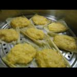老黄牙鲜玉米蒸饼的做法