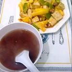 杨莹2263149菠萝咕噜豆腐的做法