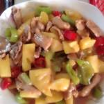 丽児(来自腾讯..)菠萝咕噜肉的做法