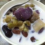 蔷薇8140红豆紫薯甜汤的做法
