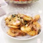 鹏程万里-付鹏红烧大虾的做法