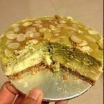 jon21绿茶重乳酪蛋糕的做法
