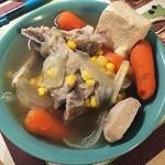 许小畅子玉米胡萝卜排骨汤的做法