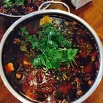 月色(来自腾讯.....)水煮牛肉的诱惑的做法