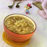 食·色绿豆薏米粥的做法