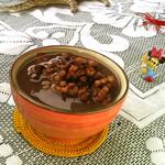 食·色薏米红豆粥的做法