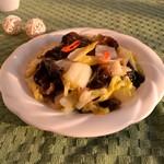 燕清欣黑白菜的做法