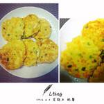 Moe'❤虾仁豆腐饼的做法