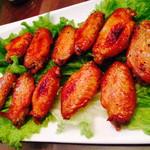 marry@m(来自腾讯.)香烤鸡翅的做法