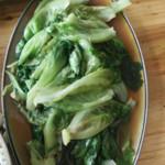噯メde╰☆╮約錠蒜蓉生菜的做法