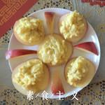 暖色系颜阳蛋黄土豆泥沙拉的做法