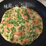 洪妹妹1995韭菜煎饼的做法