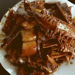 辰8530笋干烧肉的做法