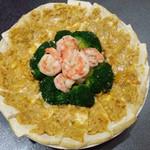 李华1696272金沙虾球豆腐的做法