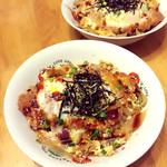 梨花丸子日式猪排饭的做法