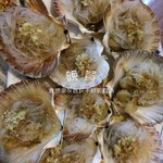 北青鹤蒜茸粉丝蒸扇贝的做法