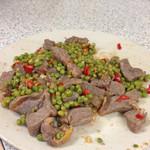 EvaZhu青豆牛肉末的做法