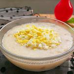 度娘菜园和厨房芹菜香菇虾米粥的做法
