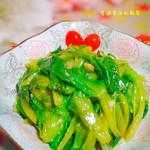 度娘菜园和厨房蒜蓉炒生菜的做法