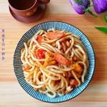 度娘菜园和厨房番茄牛肉面的做法