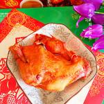 度娘菜园和厨房香酥烤鸡的做法