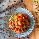 度娘菜园和厨房蚝油烧茄子的做法