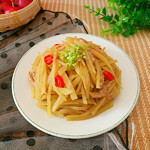 度娘菜园和厨房酸辣土豆丝的做法